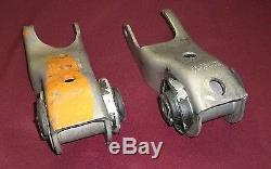 NOS Mopar Motor Mounts 1973-1976 B & C body big block spool type 3642814-3642815