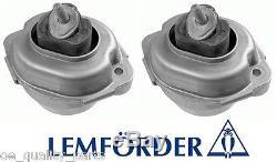 OEM LEMFORDER RIGHT & LEFT ENGINE BEARING MOUNT MOUNTING BMW X5 E 53 E53 3.0d