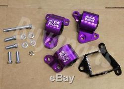 Purple Swap Engine Motor Mount CIVIC 96-00 Ek D15/d16 B16 B17 B20 Replacement