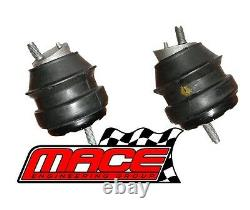 Pair (lhs + Rhs) Engine Mounts For Holden Commodore Vz Alloytec Ly7 Le0 3.6l V6