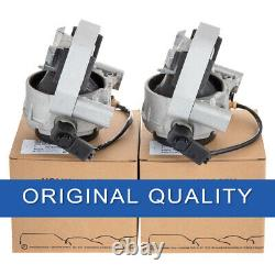 Pair of L&R Side Engine Mounts OEM For Audi A6 A7 Quattro 2012-2018 4G0 199 381