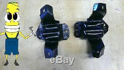 Premium Motor Mount Kit for Ford Mustang 5.0 L 302 Engine 1984-1992 Fox Body