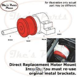 Prothane 4-510 Motor Mount Insert 94-02 Dodge Ram Cummins Diesel 2wd & 4wd