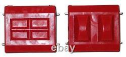 Prothane 7-506 Polyurethane GM Motor Engine Mount Bushings (Pair Red)