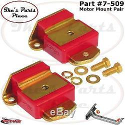 Prothane 7-509 Motor Mount Insert Bushing Kit Early GM Cars/Trucks 63-72