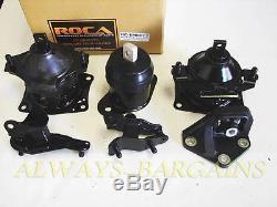 ROCAR Engine Mount Motor Transmission Mount Bushing Accord 03-07 2.4L 4Cyl Auto