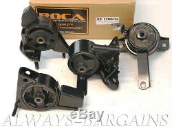 ROCAR Engine Mount Motor Transmission Mount Bushing Corolla 98-02 1.8L Auto 4pcs