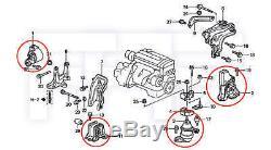 ROCA Accord 98-02 4cyl 2.3L F23A CG5 MT Transmission Tranny + Engine Motor Mount