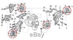 ROCA Prelude 92-96 F22A1 H23A1 H22A1 MT Transmission Tranny + Engine Motor Mount