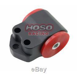 Racing Black 96-2000 Honda CIVIC Motor Mounts Kit D16 B16 B18 Ek B-series Engine