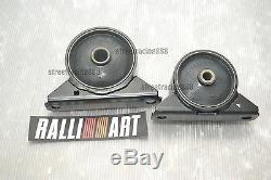 Ralliart Crossmember Mount 4G91 4G92 4G93 Lancer CA4A CB5A Mirage Colt Mivec