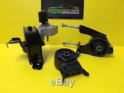 Scion XA XB Toyota Echo 00-05 Engine Motor Mount Kit AT 3PCS