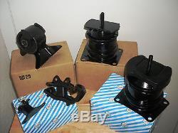 Set Of Engine & Transmission Mounts - Fits 1998-2002 Honda Accord (3.0l, V6, At)