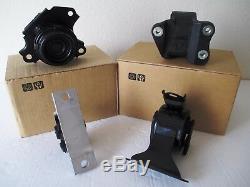 Set Of Engine & Transmission Mounts - Fits 2002-2006 Honda Cr-v (2.4l, L4, At)