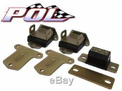 Small And Big Block Chevy Poly Urethane Engine And Transmission Mount Kit