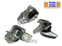 Smart Fortwo 42 450 Cabrio Roadster City Engine Mount Set Meyle A763