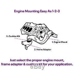 Speedway Motors SBC 305 350 400 Small Block Chevy Swap Engine Front Cradle Mount