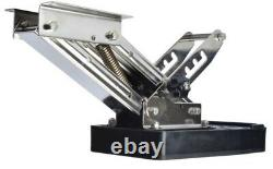 Stainless steel Boat Outboard Motor Bracket Kicker Auxiliary 20HP Heavy Duty