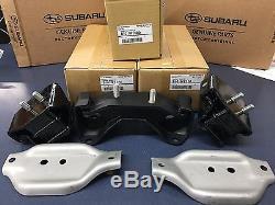 Subaru STI Group N Motor mount kit & 6 speed Transmission Mount 2004 2015 Set