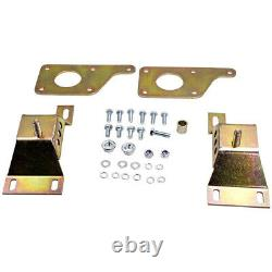 Swap Adapter Plates with4.6 Solid Motor Mounts For Ford Mustang With LS GM Bolcks
