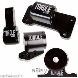 Torque Solution BILLET 4 Piece Engine Mount Kit (5-speed) EVOLUTION EVO 7 8 9