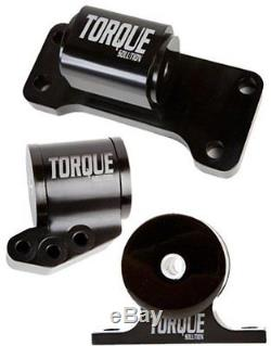 Torque Solution Billet 3-piece Engine mount Kit for 01-06 Mitsubishi EVO 7 8 9