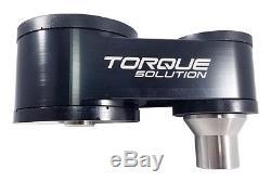 Torque Solution Billet Rear Engine Mount Black for Ford Fiesta ST 2014+ 15 16