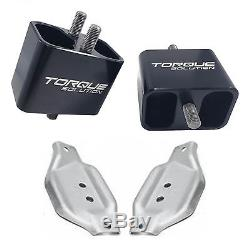 Torque Solution Solid Engine Mounts with plates fits WRX 2002-2014 / STi 2004-2017