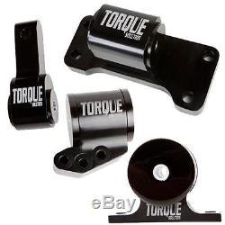 Torque Solution TS-EV-1235 BILLET 4 Piece Engine Mount Kit for 03-06 EVO 7 8 9