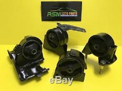 Toyota Corolla 93-97 1.8L Engine Motor Mount Set Automatic 7AFE