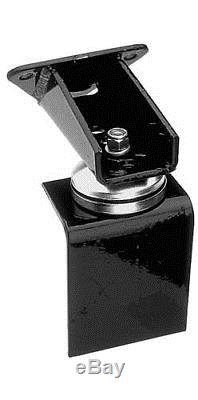 Trans-Dapt Motor Mounts Engine Swap Rubber Black Jeep Wrangler SBC V8/V6 4WD Kit