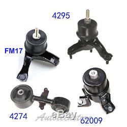 Trans Engine Motor Mount For 07-11 Toyota Camry 2.4L M261 62009 4295 FM17 4274