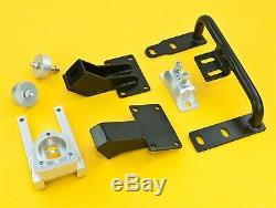 VQ35 350Z/G35 Motor Swap Mount + Shifter Bracket For 240SX S13 S14