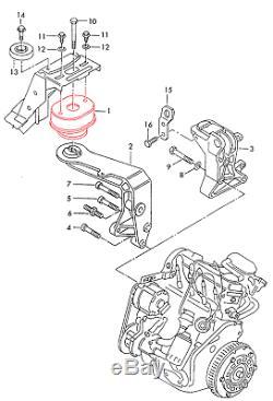VW T4 Transporter IV Lager Set Getriebelager 7D0399207B + Motorlager 7D0199132D