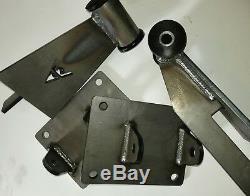 Weld in Engine Mount Adapter Swap Kit GEN 5, LT LT1 LT4 L83 L86 5.3 6.2 #17060A