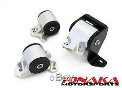 Yonaka ALUMINUM Motor Mounts for Honda Civic 96-00 EK D-B Series B16 B18 D16