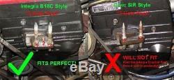 Yonaka Honda Civic Del Sol B16 B18 Swap Axles & Halfshaft & Mounts Kit 250 whp
